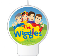 THE WIGGLES EMMA HAPPY BIRTHDAY CAKE DECORATING CANDLE PARTY SUPPLIES