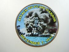 PEARL HARBOR ATTACK Dec 7 1941 Hawaii Colorized Kennedy Half Dollar Money Coin