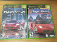 Lot of 2 Xbox Gotham Racing 1 & 2 for Original Xbox