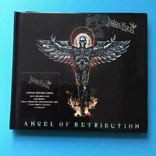 JUDAS PRIEST - Angel Of Retribution - Limited Edition + DVD - RARE Hardback