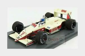 Arrows F1 A10B #17 Italy Gp 1988 D.Warwick White Red SPARK 1:43 S3911