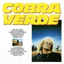 Cobra Verde  Popol Vuh Colonna Sonora CD Nuovo