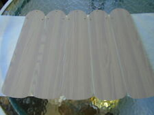 HARBOR BREEZE 42'' CEILING FAN REPLACEMENT PADDLES REVERSIBLE WASHED OAK/WHITE