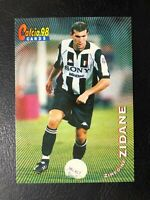ZINEDINE ZIDANE CARDS CALCIO 98 PANINI n 64 NEW MINT