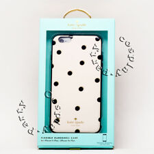 Kate Spade Hardhsell Case For iPhone 6 Plus iPhone 6s Plus - White Black Dot