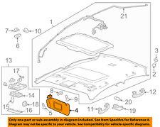 Chevrolet GM OEM 12-18 Sonic Sunvisor-Sun Visor Right 42478247
