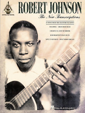 ROBERT JOHNSON-THE NEW TRANSCRIPTIONS GUITAR-TAB MUSIC BOOK-NEW ON SALE SONGBOOK