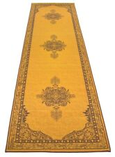 Persian Medallion Runner Rug Slip Skid Resistant Rubber Backing 3' x 10' 3 by 10