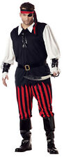 Cutthroat Pirate Buccaneer Adult Plus Size Costume