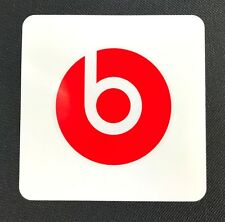 Beats by Dre Official Genuine Stickers x 2 Decal Audio Headphones Vinyl