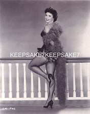 ACTRESS COLLEEN MILLER LEGGY REAR VIEW SEAMED FISHNETS 8X10 PHOTO A-CM1