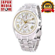 Citizen Attesa AT8041-62A Eco-Drive Radio Titanium Men`s Watch Limited Japan