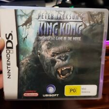 Peter Jackson's King Kong The Official Game-  (Nintendo DS/3DS) NDS - FREE POST