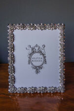 "OLIVIA RIEGEL Crystal ""Suki"" 8x10 Photo Frame New in Box"