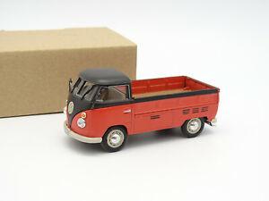 Cararama SB 1/43 - VW Combi T1 Pick Up Rouge et Noir