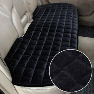 Universal Rear Car Back Seat Cover Full Protector Non-Slip Mat Pad Chair Cushion