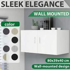 vidaXL Wall Mounted Cabinet Chipboard Bedroom Floating Shelf Multi Colours