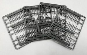 Renedra Ltd - REN-RAIL Grey Railings Plastic Wargaming Kit 28mm Scale