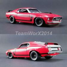 ACME A1801820B 1969 BOSS 302 TRANS AM MUSTANG STREET VERSION DIECAST CAR 1:18