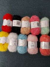 RICO CREATIVE BUBBLE SPONGE/DISHCLOTH YARN 10 x 50 gram.