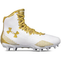 UNDER ARMOUR UA HIGHLIGHT MOLDED MC LAX Womens Lacrosse Cleats Gold - Pick Size