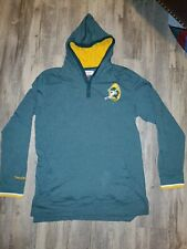 Green Bay Packers NFL Mitchell & Ness Mid-Season Long Sleeve Hooded Hoodie