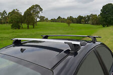 Aero Roof Rack Cross Bar for Subaru WRX 11-14 Sedan Alloy 120cm Extended