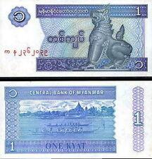 MYANMAR - 1 kyat 1996 FDS - UNC