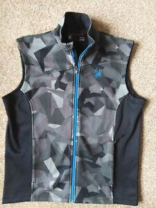 'Spyder' Mens Fleece Lined Sleeveless Winter Jacket.. Size Large.. Fab.Design