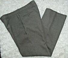 """LEVIS Action Slacks Vintage 90s Mens Pants Size 34 x I 30"""" Gray Flat Front"""
