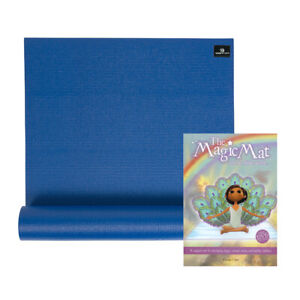 The Magic Mat & Childrens 4.5mm Yoga Mat, Yoga Book & DVD Bundle