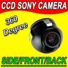 Sony CCD 360°Mini Farb Rückfahrkamera Neigung Front Vorne Hintern car camera