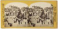 Venezia Italia Foto M.a Parigi Stereo Th1L8n Vintage Albumina c1865