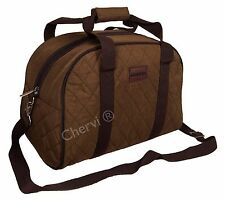 High Quality Quilted Kangol Gym Cabin Hand Luggage Case Holdall Travel Bag