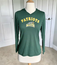 Stadium Athletics George Mason Patriots Green Long Sleeve Hooded Pullover