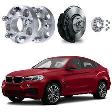 For BMW X6 2008-2018 4PCS Hub Centric Wheel Spacers Adapters 25MM Thick 5x120
