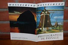 REVUE HASSELBLAD PHOTOGRAPHIE DE PAYSAGE 7/12/1971