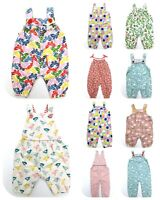 Baby Ex Boden Dungarees Jersey Print  Age 0-24 Months RRP £22