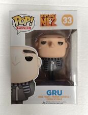 Despicable Me 2 Gru Pop! Vinyl Figure #33  NEW Funko Vaulted