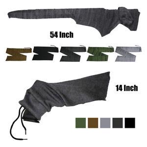 54 / 14 inch Rifle Sleeve Silicone Treated Sock Pistol Gun Case Storage Pouches