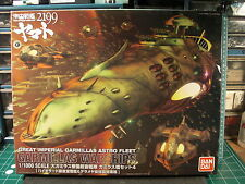 SPACE BATTLESHIP YAMATO 2199*BANDAI*1/1000*GARMILLAS WARSHIPS SET 4