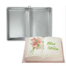 1PCS Book Pan Fondant Cake Tin Baking Mold Mould Decorating Bake Ware Tools Gift