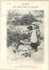 1898 Fond Of Blackberry Picking Introducing The Emperor Of China Cartoons