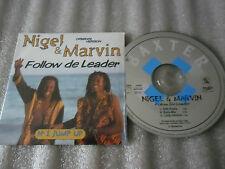 CD-NIGEL & MARVIN-FOLLOW DE LEADER-JUMP UP-NIGEL LEWIS-PODIS(CD SINGLE)98-3TRACK