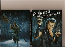 RESIDENT EVIL AFTERLIFE BLU RAY LIMITED STEEL BOOK PS 3