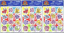 3 New packs LOONEY TUNES Stickers Bugs Tweety TAZ Marvin the Martian 12 Sheets