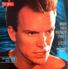 "Sting 12"" Moon Over Bourbon Street - Germany (EX/EX)"