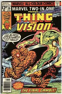 Marvel Two-In-One Vol 1 #39 (1978) The Thing & the Vision UK Pence Variant