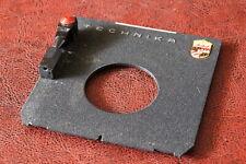 👉Linhof Technika IV V Objektivplatine lens board Ø41.6mm Copal Compur #1 96x99