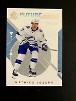 2018-19 SP Authentic #209A Mathieu Joseph FW RC/999